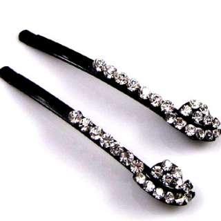 ADDL Item  2 Rhinestone crystal fashion hair side clip