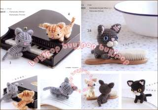 Chinese Version Japanese Crochet Craft Pattern Book 3D Amigurumi CAT