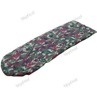 Moistureproof Camouflage Sleeping Bag f Outdoor Camping Tool HUI 50371