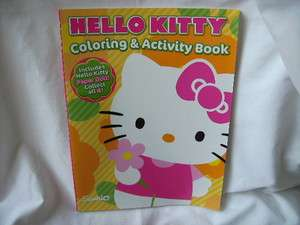 2X HELLO KITTY Coloring and Activity Book * total of 128 Coloring
