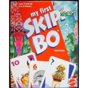 My First Skip Bo Card Game: Toys & Games