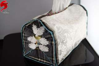 Free designs Embroidery Fabric Tissue Table Box Covers
