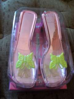 Little Girl Dress Up Shoes Pink w/Butterfly