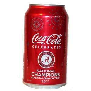 Alabama Crimson Tide Football 2011 National Champions Coke