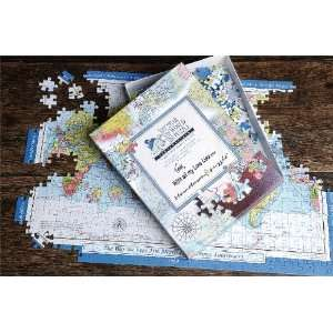 Personalized World Map Jigsaw Puzzle Toys & Games
