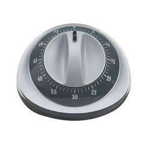 OXO Good Grips Analog Timer, silver/black:  Kitchen