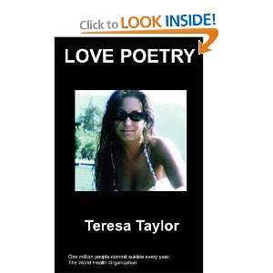 Love Poetry (9781847474322): Teresa Taylor: Books