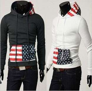 New Fashion Korean Mens Slim Fit Male Jacket/Coat/Sweatshirt/Top