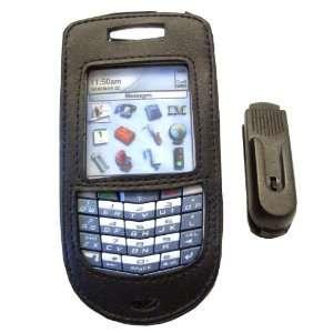 RIM Blackberry 7100 7100t 7100r Leather Belt Clip Case