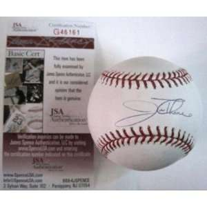 Jim Thome Signed Ball   Phillies Official M l W jsa   Autographed
