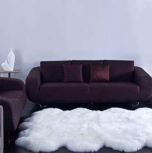 Natural Sheepskin Area Rug Modern Shag Carpet Sheep Skin White Quarto
