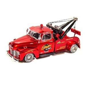 1953 Chevy Tow Truck 1/24 Lowrider Series   Metalic Red