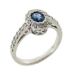 Mastini Opulent Blue Sapphire Ring, 6.5 Mastini Fine