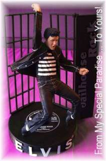 ELVIS PRESLEY JAILHOUSE ROCK ACTION FIGURE DOLL COLLECTIBLE