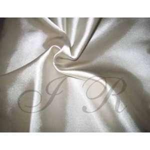 63 Wide X 60 Ft, 20 Yard Silver Super Long Satin Fabric