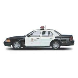 Ford Crown Victoria LAPD Police Car 1/18 Toys & Games