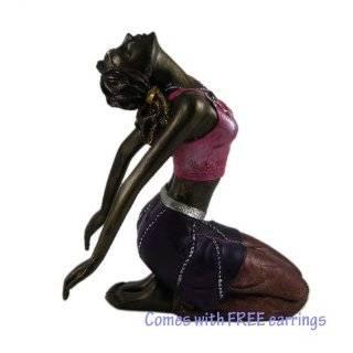 Camel Pose Figurine Yoga Ustrasana with free earrings