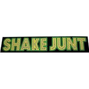 Shake Junt Stretch Decal Large 8 Single Skateboarding