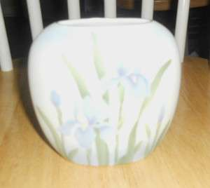 Otagiri Oval Iris Vase by Elizabeth King Brownd