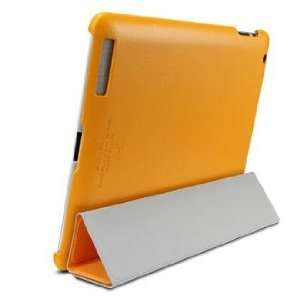 SGP iPad 2 Leather Case Griff Series [Solaris Orange]