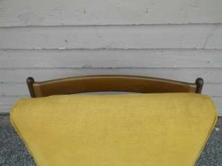 DANISH MODERN SELIG WALNUT LOUNGE CHAIR MID CENTURY MOD