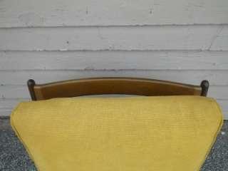 DANISH MODERN SELIG WALNUT LOUNGE CHAIR MID CENTURY MOD |
