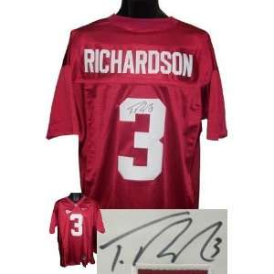 Trent Richardson Autographed/Hand Signed Alabama Crimson
