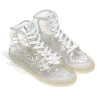 Adidas Jeremy Scott ObyO Clear Wing Shoes Rare JS Angel