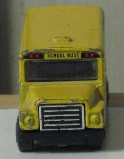 1985 Vintage Matchbox 195 Scale School Bus