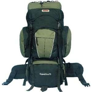 New 75+10L Internal Frame Hiking Camping Backpack Travel Bag 5400ci