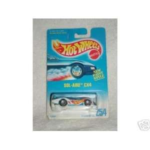 Hot Wheels 1991 Sol Aire CX4 Collector #254 164 Scale