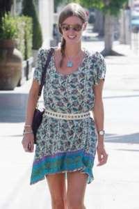 Tolani Victoria silk tunic blouse top Cream Purple