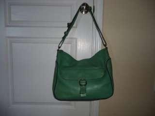 Leather Denim Trim Extra Large Messenger CTB Shoulder Handbag