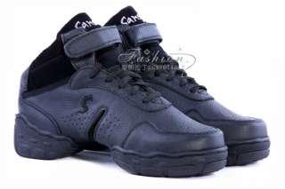New Black Sansha Dance Sneakers Hip Hop / Jazz Dance Shoes
