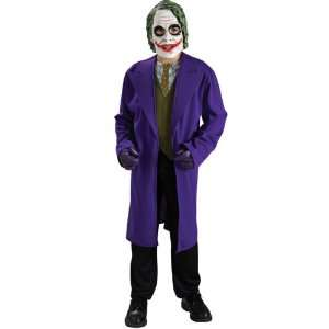 Party By Rubies Costumes Batman Dark Knight The Joker Child Costume