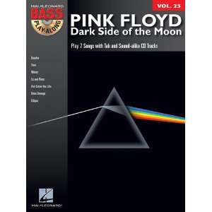 Pink Floyd   Dark Side of the Moon   Bass Play Along Volume 23   BK+CD