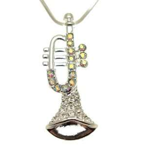 Acosta Jewellery   Rainbow AB Crystal Musical Instrument
