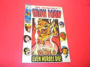 IRON MAN #18 Marvel Comics 1969