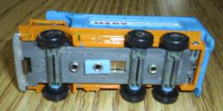 1969 RARE MARX ELECTRIC LIGHTRUCKS DIE CAST DUMP TRUCK ORIGINAL BOX