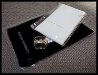 AUTHENTIC DAVID YURMAN NOBLESSE COLLECTION GEMSTONE & DIAMOND RING