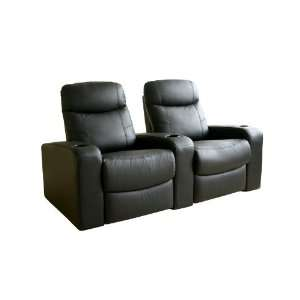 Baxton Studios   Cannes Home Theater Seats (3) Black