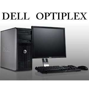 Dell Optiplex 745 Core 2 DUO 1.8GHz 1GB/80GB/DVDRW/Monitor