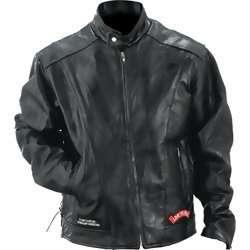 Rock Design Genuine Buffalo Leather Motorcycle Jacket