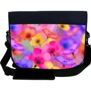 Flowers Design NEOPRENE Laptop Sleeve Bag Messenger Bag   Laptop Bag