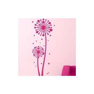 Winkle Flowers vinyl wall decals