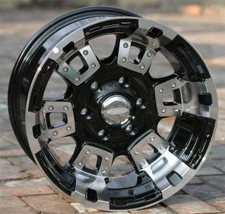 20 inch Black Diamo 17k wheels/rims Chevy Gmc 6 lug