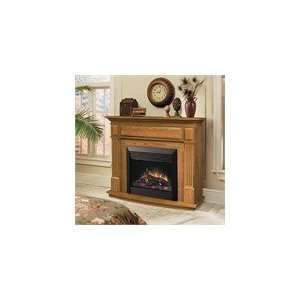 Dimplex Preston Oak Electric Fireplace Indoor Traditional