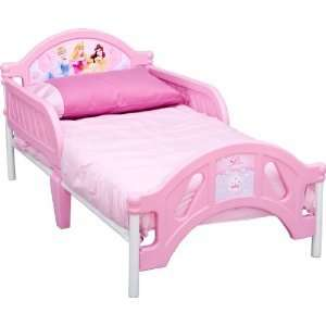 Disney Princess Pretty Pink Toddler Bed New