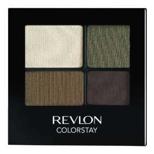 REVLON Colorstay 16 Hour Eye Shadow Quad, Adventurous, 0