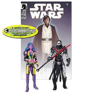 Action Figure 2Pack Dark Horse Deliah Blue Darth Nihl Toys & Games